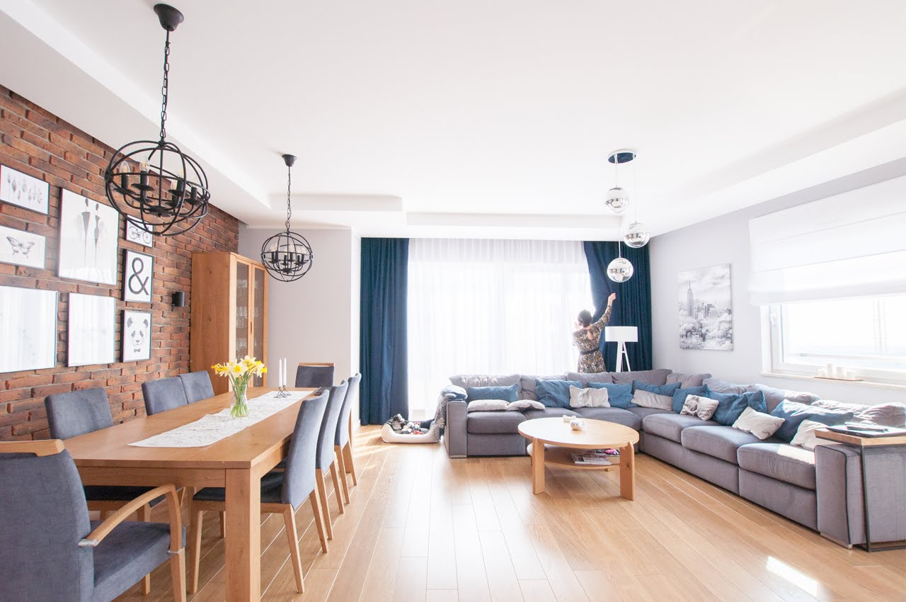 Projekt apartamentu Central Park w Gdańsku