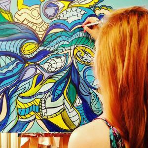 Martyna Szulist - malarstwo intuicyjne