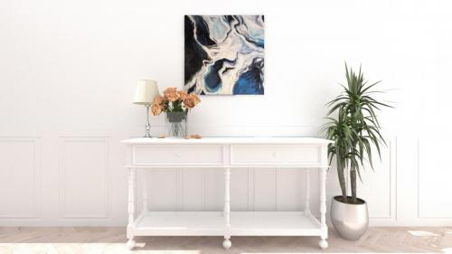 Akryl na płótnie 80 x 80 cm